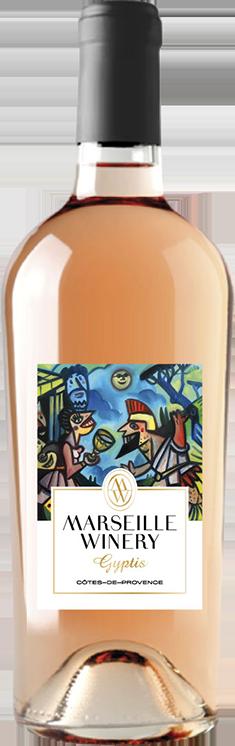Vin Rosé Gyptis Marseille Winery Vinification Marseillaise Cote de provence